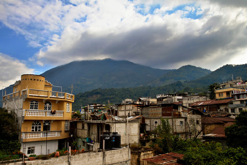 View of San Pedro Volcano from my roof