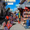 and  many of them were parked on the edges of the famous market town of Chichicastenango.