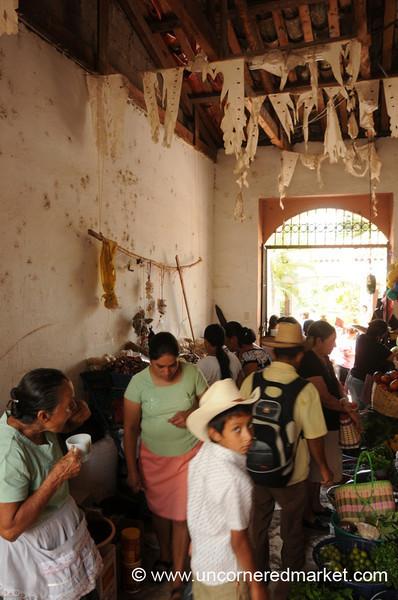 Market in Copan Ruinas, Honduras