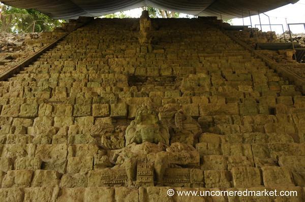 Hieroglyphic Staircase, Mayan Ruins - Copan Ruinas, Honduras