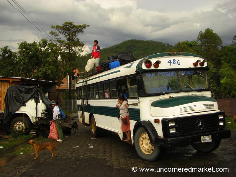 Bus Stop - Perquin, El Salvador