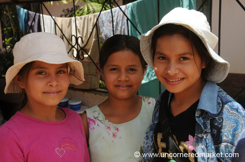 Honduran Friends Hanging Out - La Esperanza, Honduras