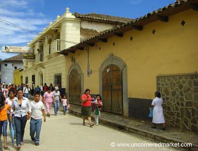 Market Day in La Esperanza, Honduras
