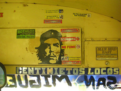Che Guavera Sticker - Marcala, Honduras