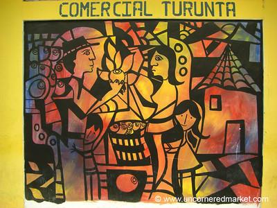 Street Art - La Esperanza, Honduras