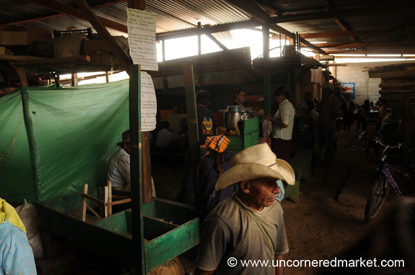 Closing Market for the Day - La Esperanza, Honduras
