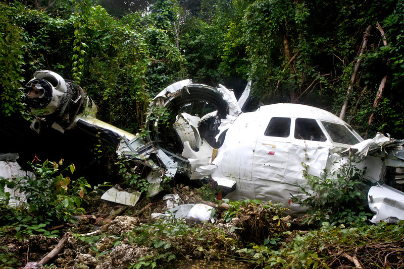 """Crashed Colombian Drug Smuggling Plane  <a href=""""http://www.yeararoundtheworld.com/searching-for-lost-colombian-smuggling-plane/"""">Click here for story...</a>"""