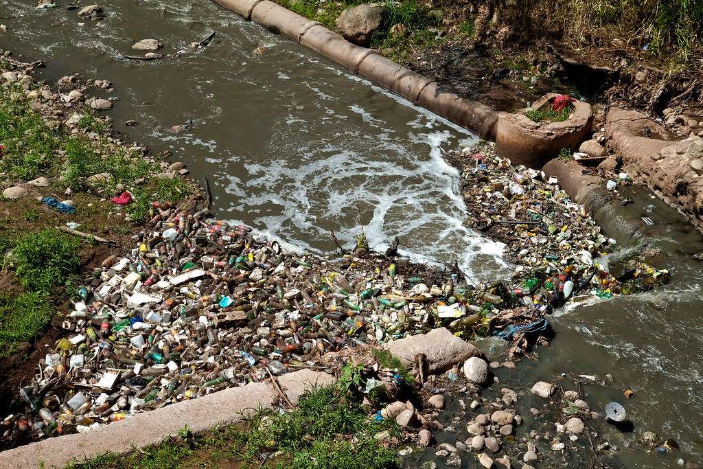 River of Trash in Tegucigalpa