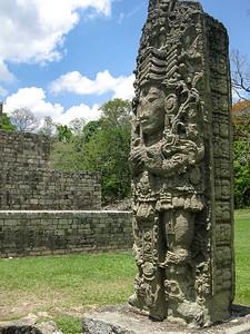 The Copan ruins near Copán Ruinas, Honduras.