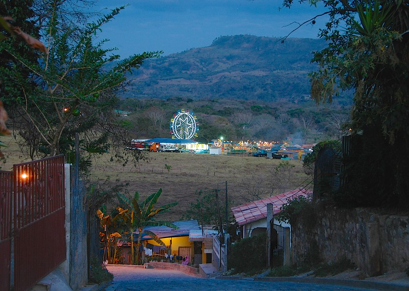 We crossed the border from Guatemala and entered rural Honduras. Our first destination was Copan (easily confused with Coban, Guatemala of course) where we wanted to visit the nearby ruins.  There was a carnival in town that night.