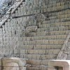 Several large monuments were quite complete,