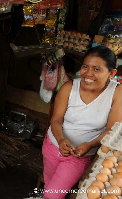 A Proud Shop Owner - Masaya, Nicaragua