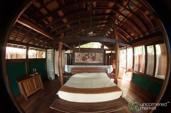 Inside a Bedroom at Morgan's Rock, Nicaragua