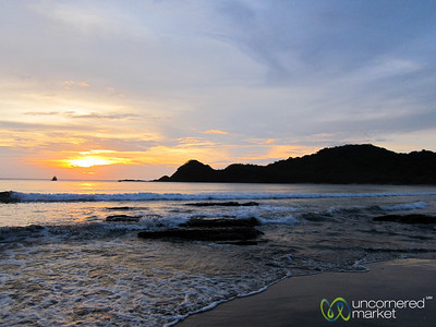 Day Ends with Sunset - Morgan's Rock, Nicaragua