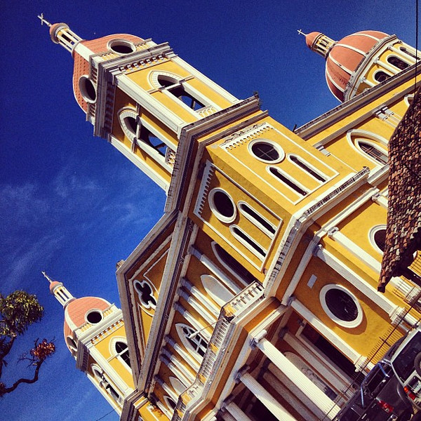 Cathedral of the Incarnation, a different view -- Granada, #Nicaragua