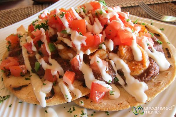 Shrimp Tacos - Morgan's Rock, Nicaragua