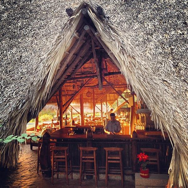 Christmas at the jungle hut #Nicaragua