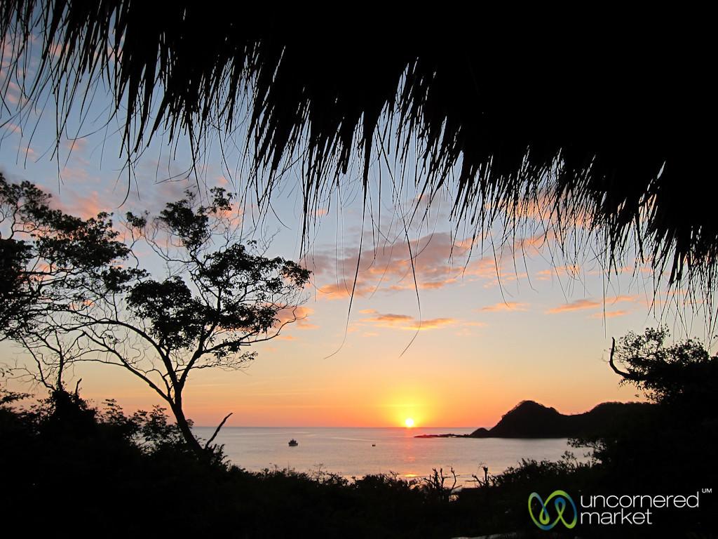 Sunset at Morgan's Rock Ecolodge - Pacific Coast, Nicaragua