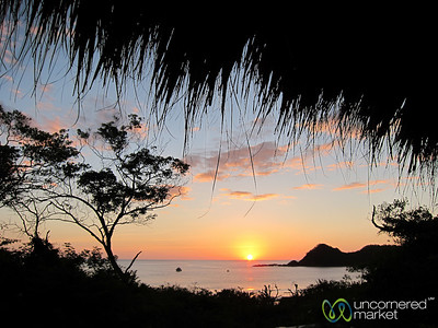 Sunset at Morgan's Rock Ecolodge - Pacific Coast, Nicaragua