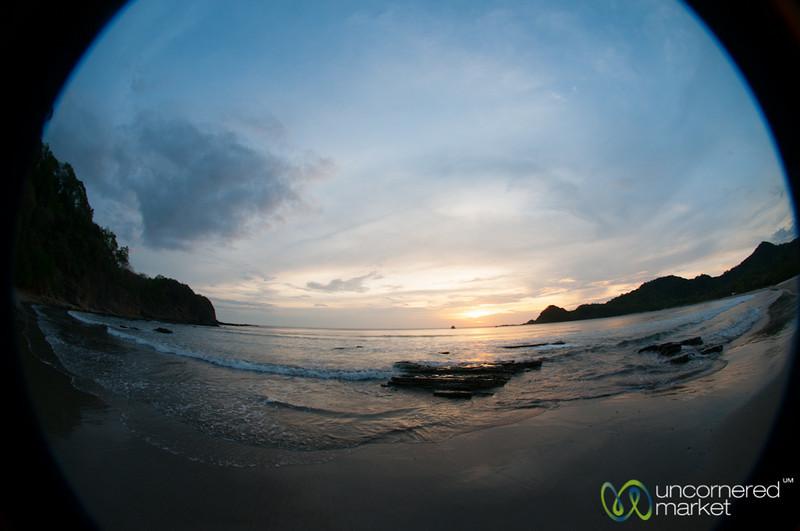 Sunset Along Nicaragua's Pacific Coast