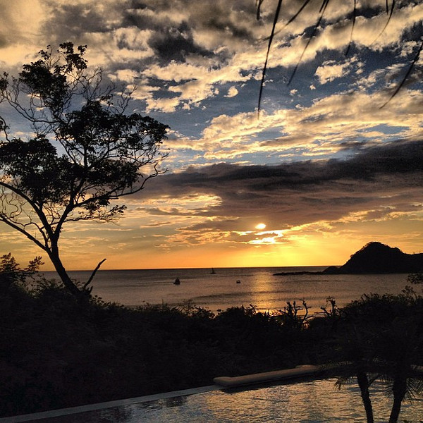 Another evening, another #sunset over the Nicaraguan coast #morgansrock