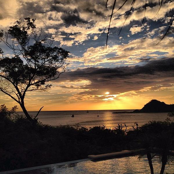 Another evening, another #sunset over the Nicaraguan coast #morgansrock