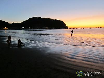 Sunset at San Juan del Sur - Pacific Coast, Nicaragua