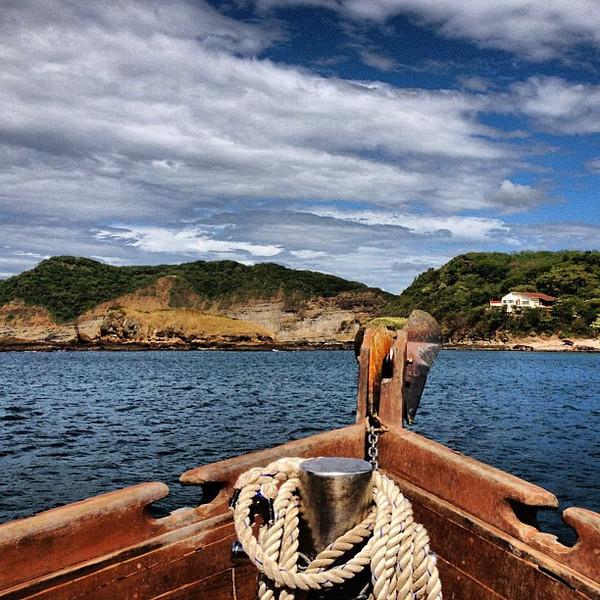 Aboard El Argonauta, tracking the #Nicaragua Pacific coast #morgansrock