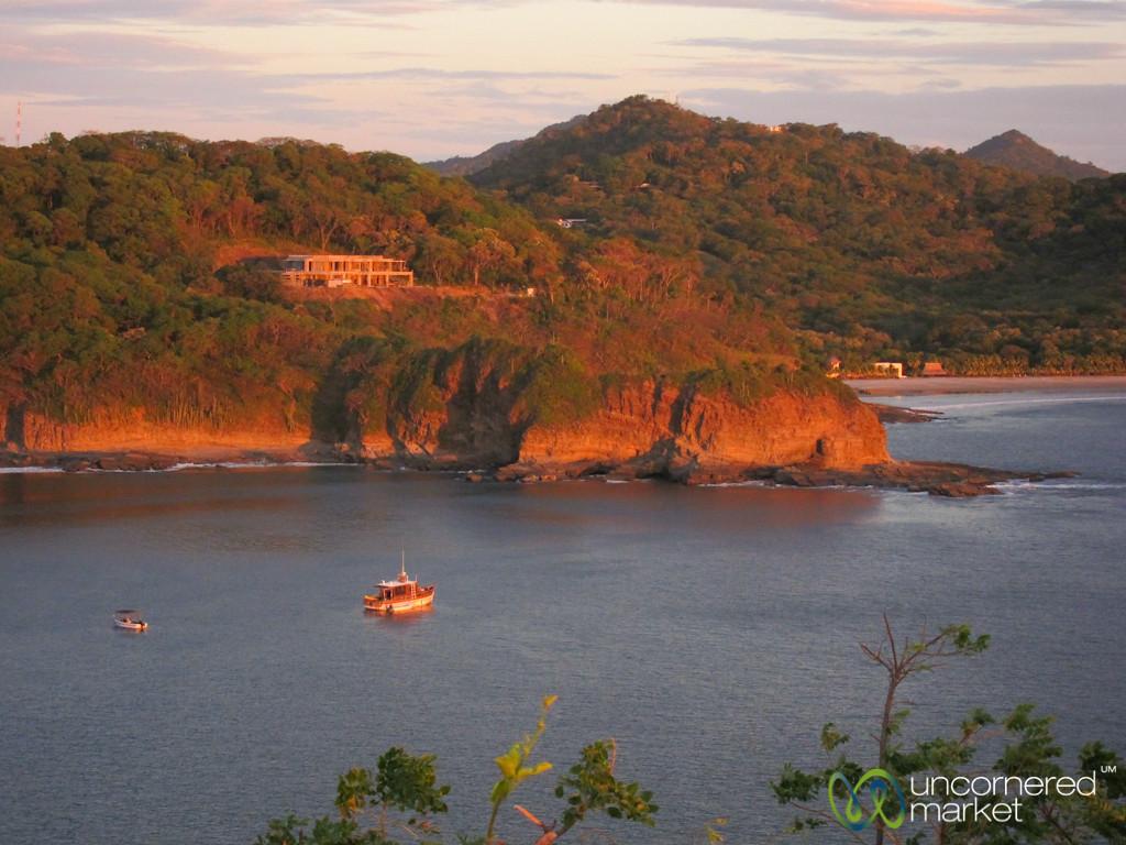 Boats in the Bay - Morgan's Rock, Nicaragua