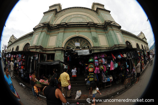 Classic Market Entrance - Granada, Nicaragua