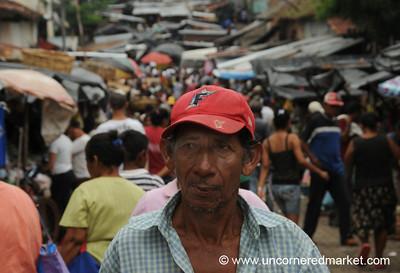 Busy Market Street - Granada, Nicaragua