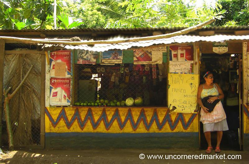 Typical Village Tienda - Isla de Ometepe, Nicaragua