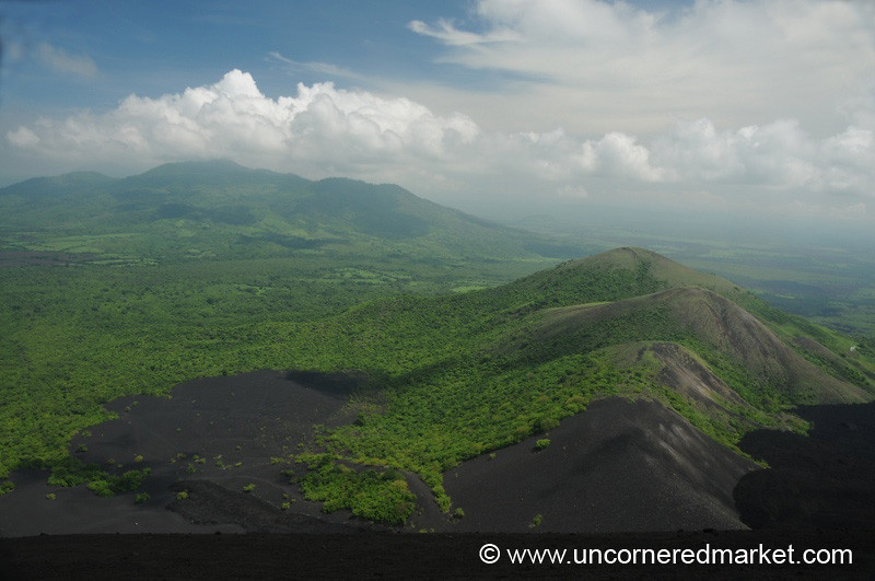 Volcanic Green - Cerro Negro, Nicaragua