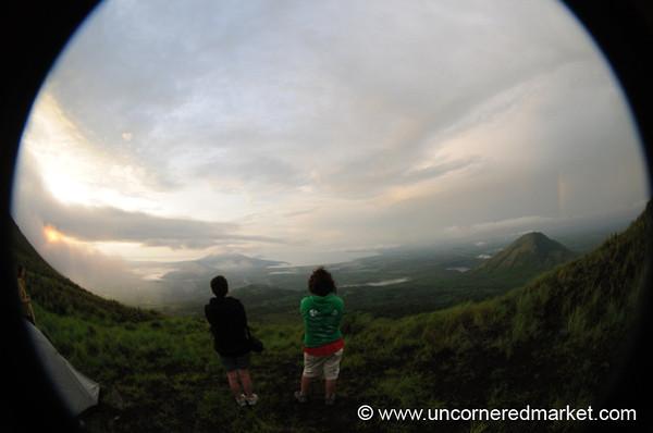 Looking Out at Dawn - El Hoyo Volcano, Nicaragua