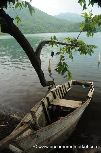 Laguna Asososca in Nicaragua