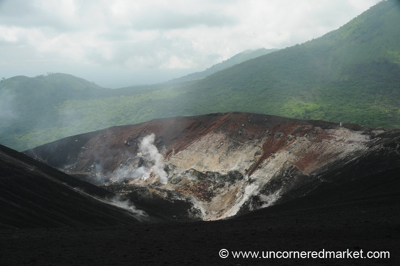 Cerro Negro Volcano Crater, Nicaragua