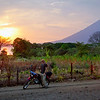 Ometepe sunset.