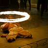 Fire dancing in Granada.