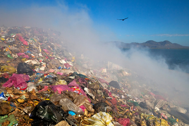 La Chureca landfill in Managua.