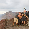 Travel bloggers conquer the volcano.