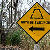 Evacuating an exploding volcano? Go this way.