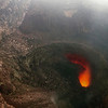 Lava hole in Masaya volcano.