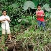 Tico Kids on Riverbank