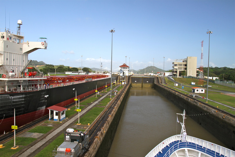Learn about a Panama Canal transit by luxury ship. Click through to read more.