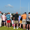Silver Cloud guests watch the action in the Panama Canal