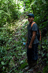Arnoldo, our guide for our three days at Silico Creek, Panama.