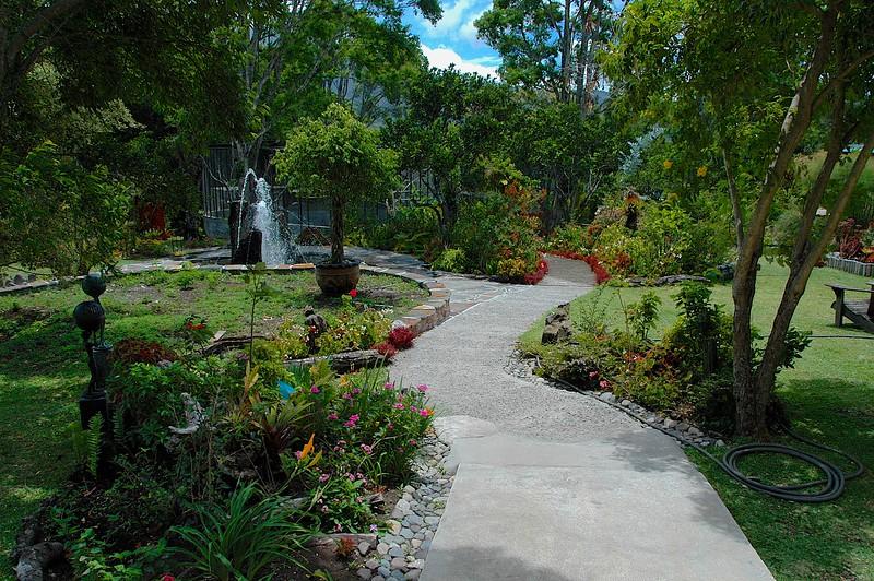 Wandering the gardens was delightful,