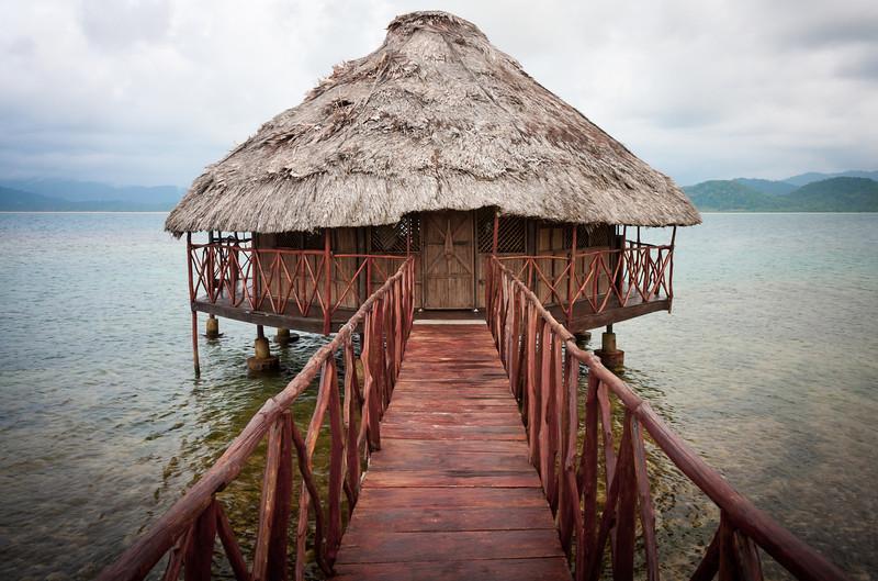 Overwater cabaña.