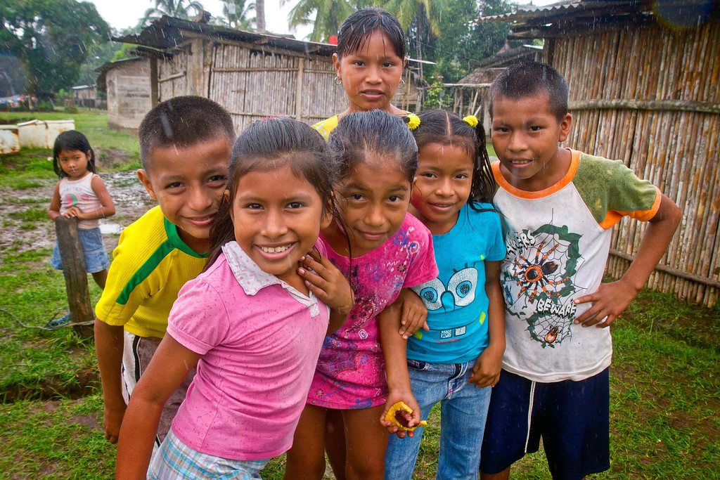 Wounaan Children Darien Gap Panama