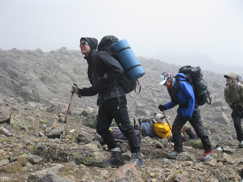 Moving to high camp